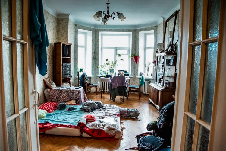 Livingroom in Moscow