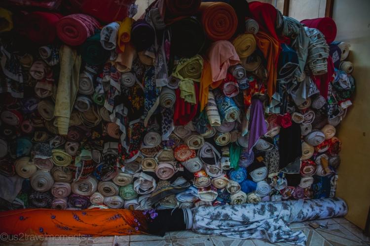 Yangon fabric