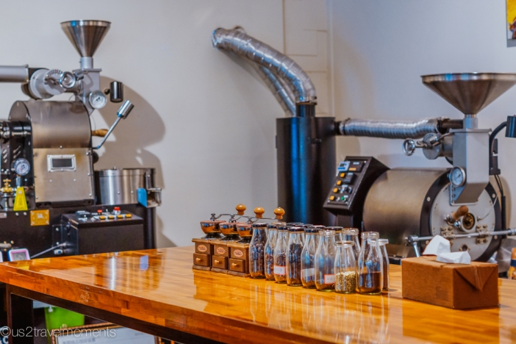 Goffee-coffee roaster